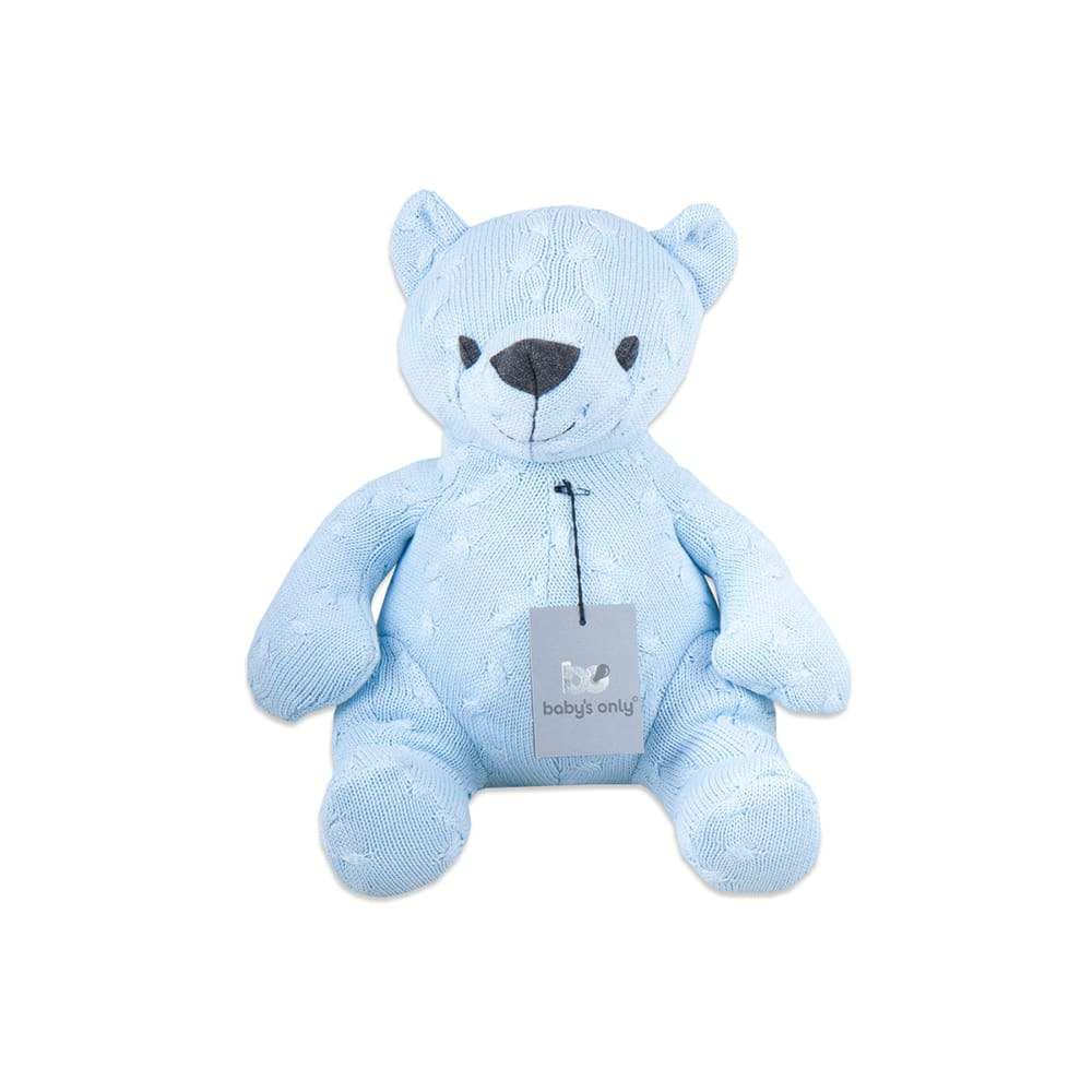 "Mīksts lācītis Baby's Only ""Cable baby blue"" 35 cm"