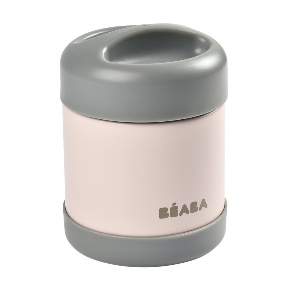 Termoss no nerūsējošas tēraudas BEABA 300 ml, pink