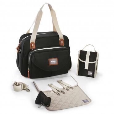 """Ceļojuma soma māmiņām """"Geneva"""" Smart Black"""
