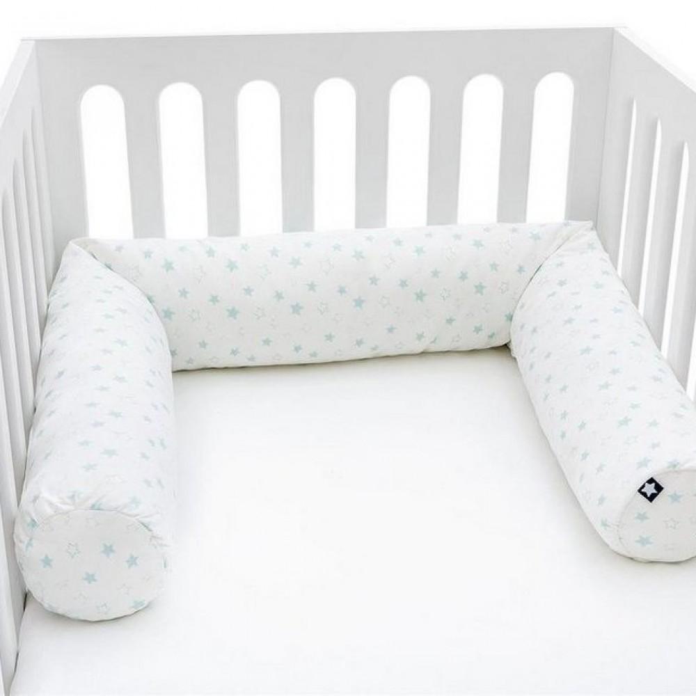 """Bērnu gultiņā ielokāma apmale """"Jersey Stella"""""""