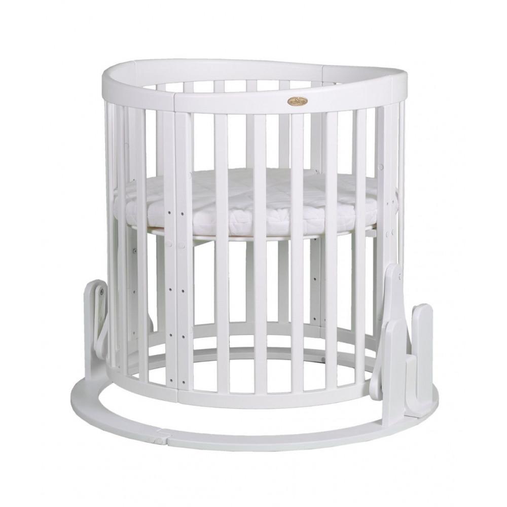 """Mehānisms šūpošanai Comfort baby gultai """"Smart Grow 7 in 1"""", balts"""