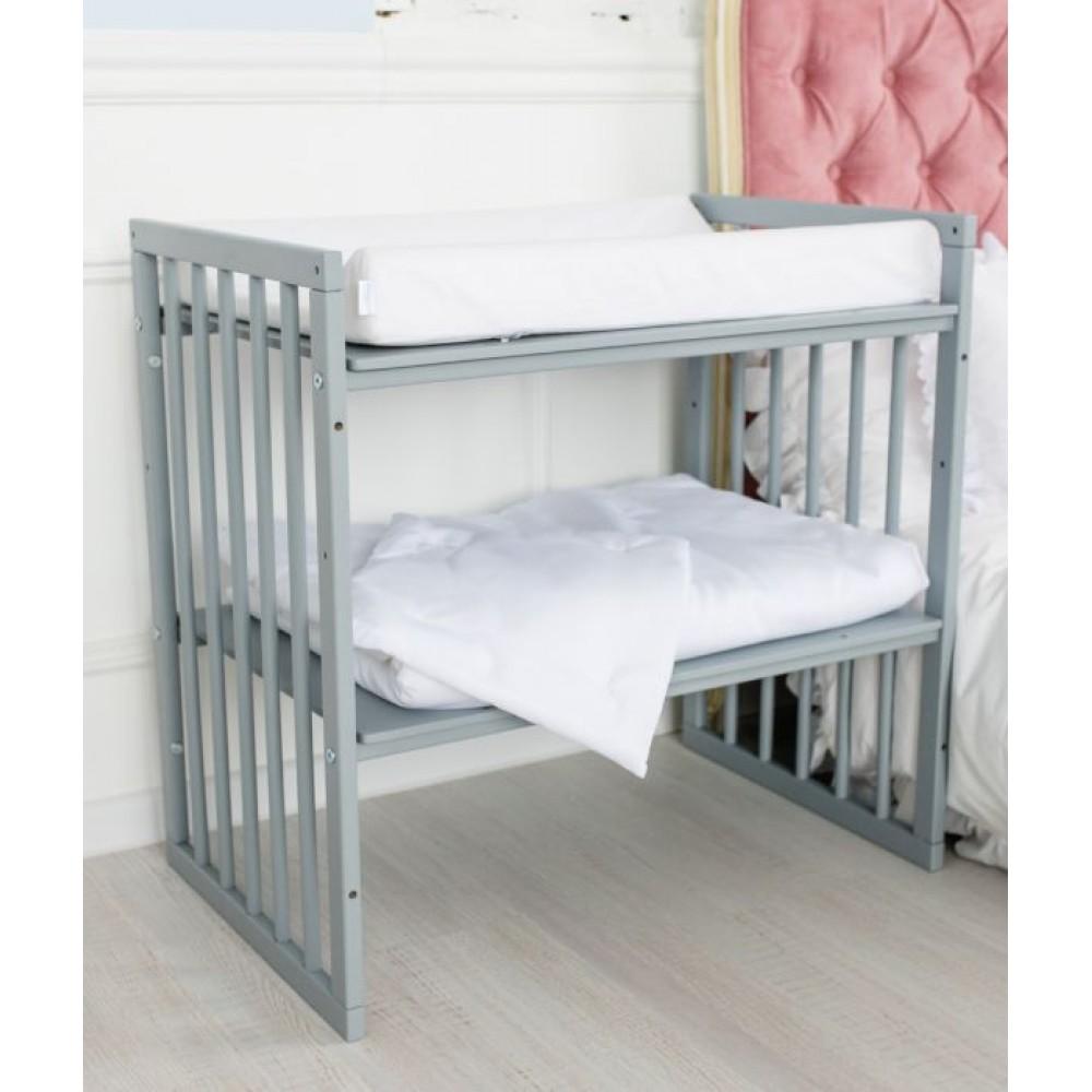Pārtīšanas matracītis Comfort Baby white
