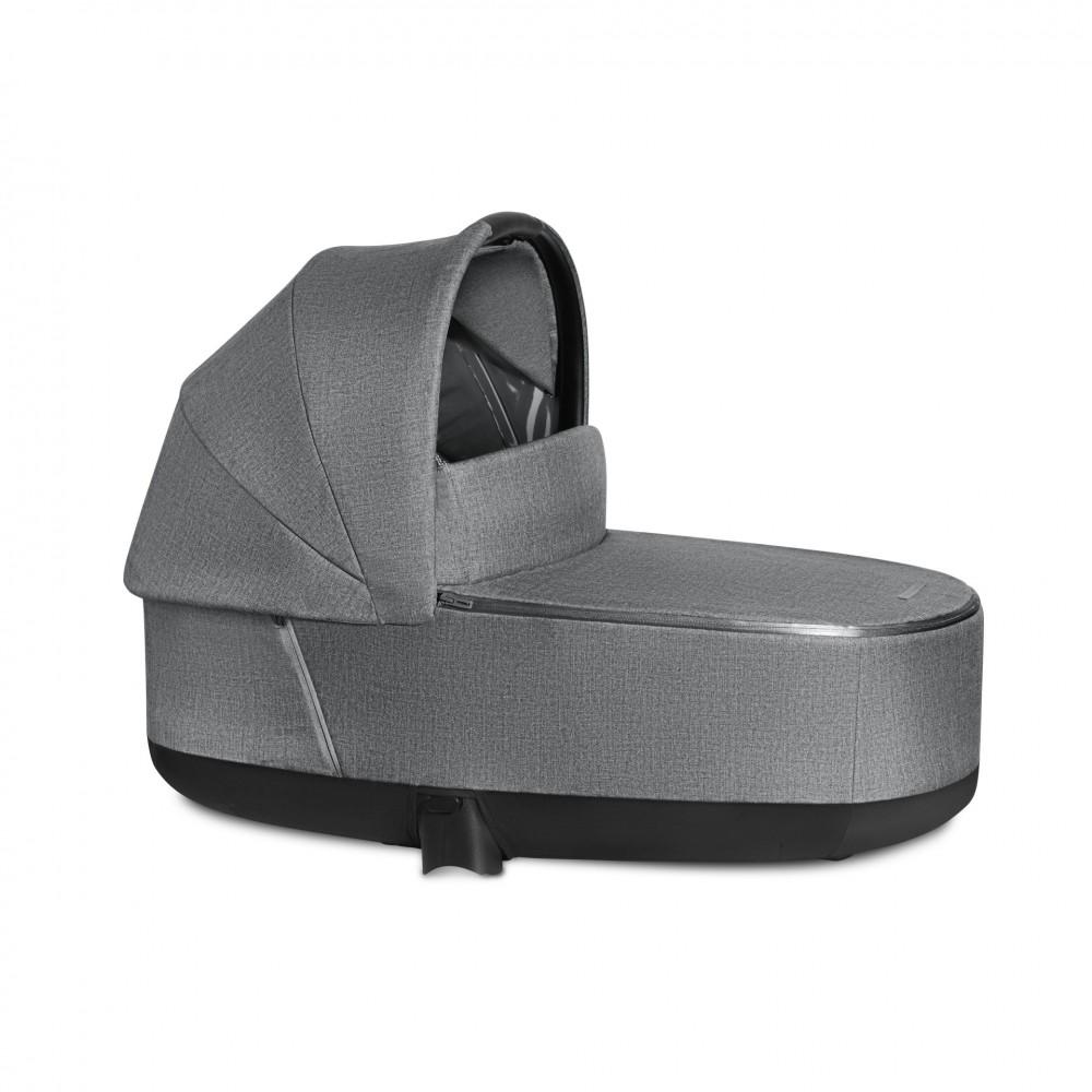 Kulba Cybex Priam Carrycot LUX Manhattan grey PLUS