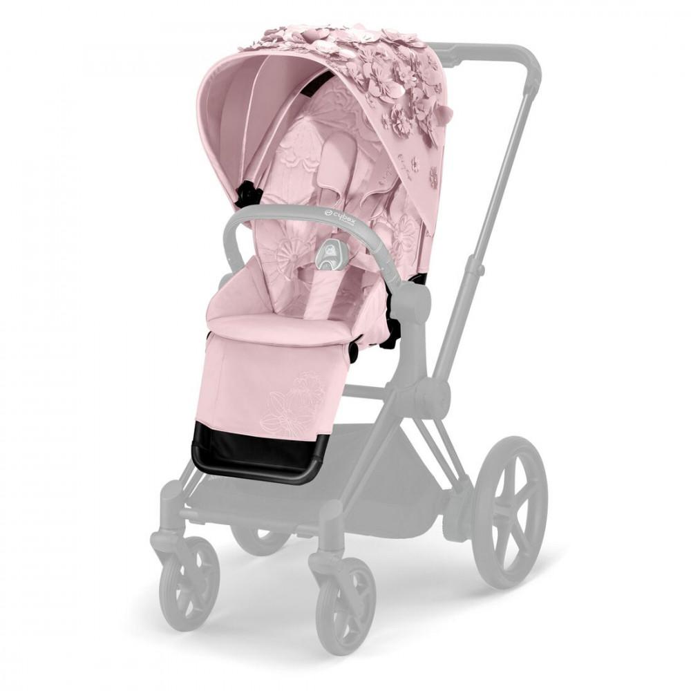 CYBEX Priam ratiņu mīkstais apšuvums Simply Flowers Pink