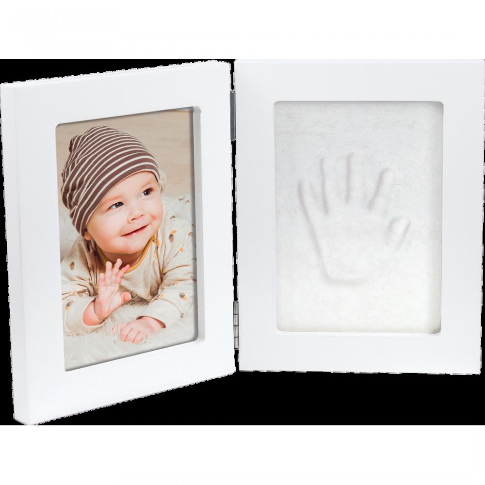 Rāmītis ar mazuļa nospiedumiem Happy Hands Double Frame Small 26 x 17 cm