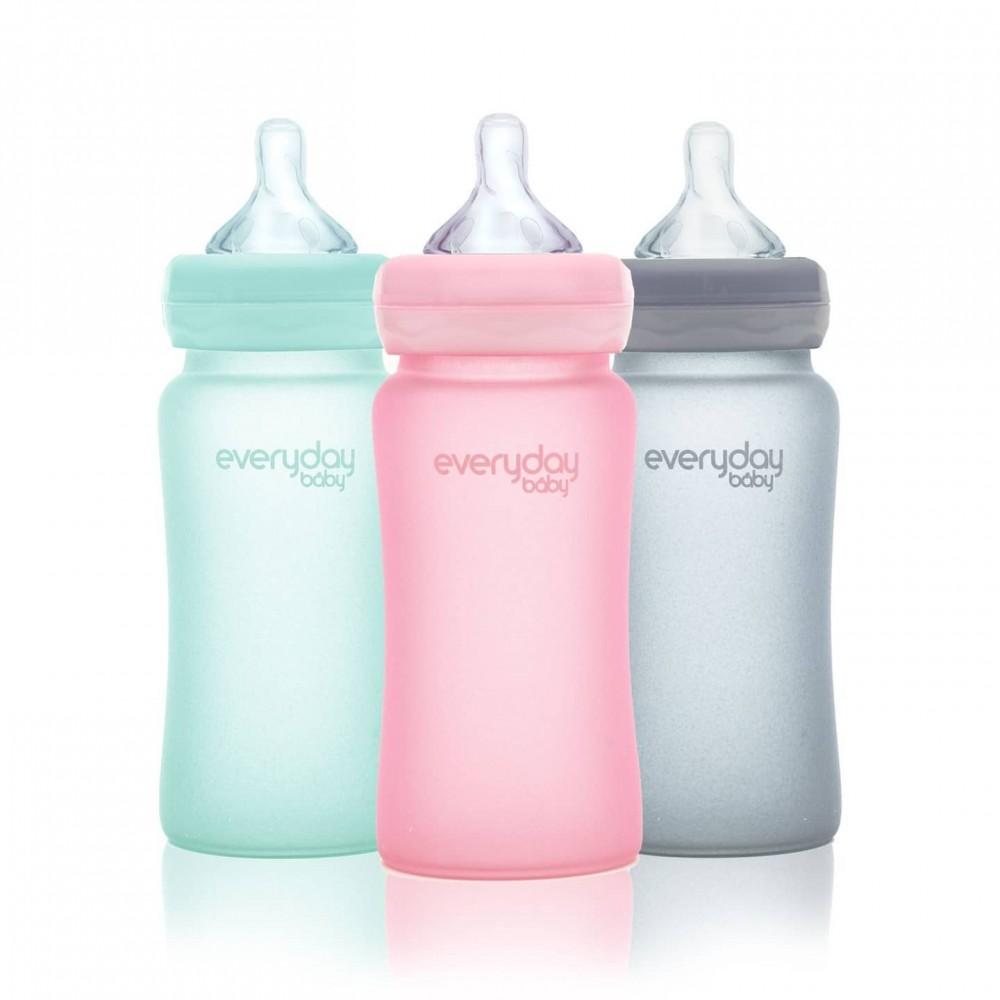 Stikla pudelīte Everyday Baby 240 ml
