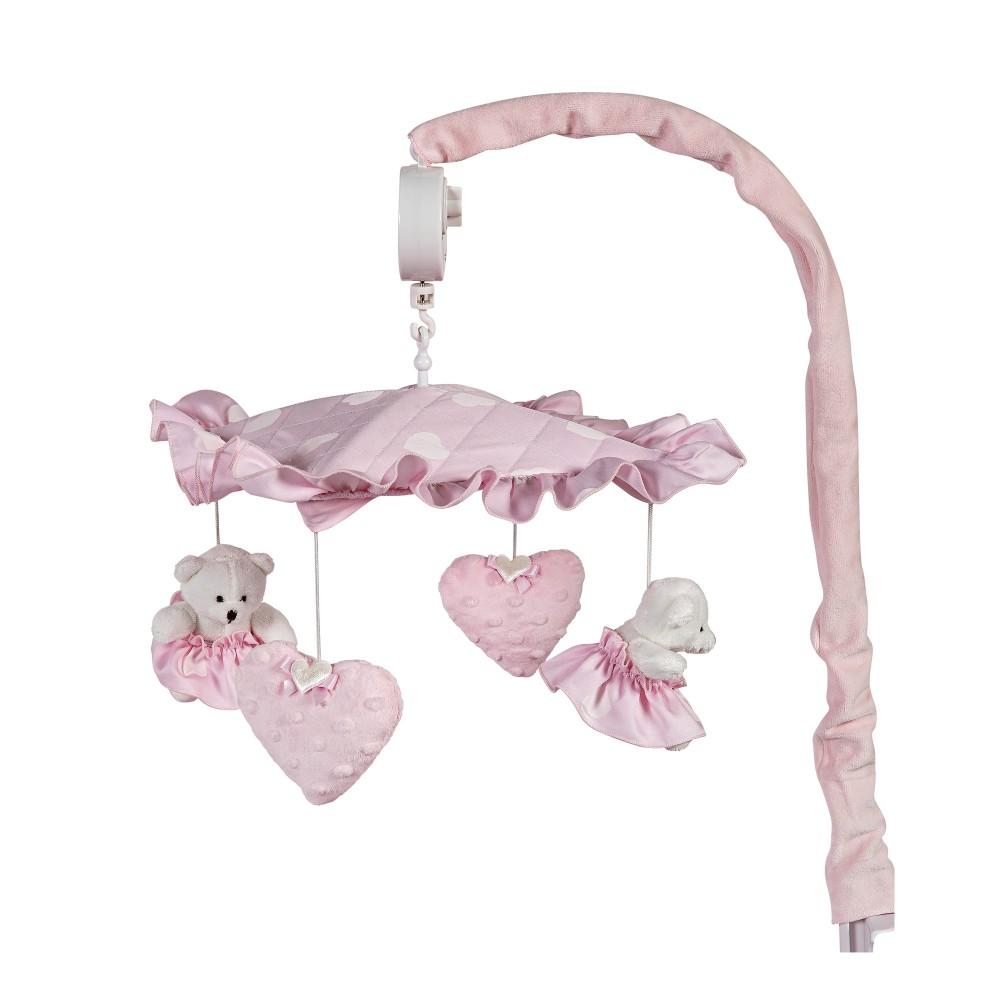 """Muzikālais karuselis """"Amelie pink"""""""