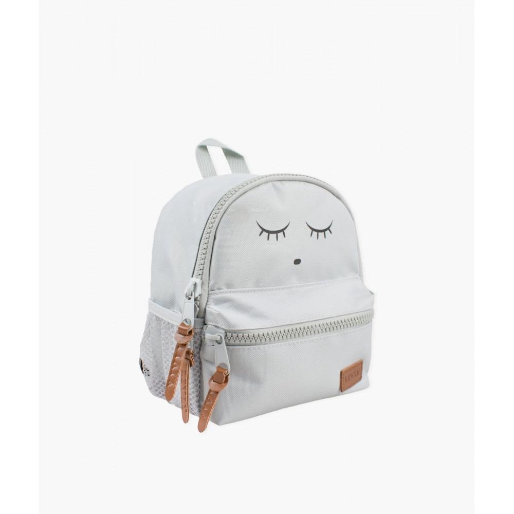 "Bērnu mugursoma Livly ""Sleeping Cutie Backpack grey mini"""