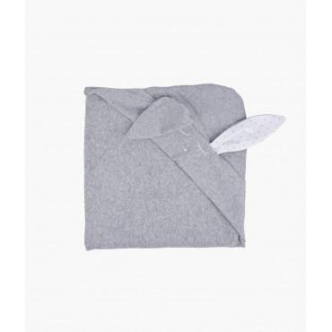 "Bērnu dvielis ar kapuci Livly ""Buny towel"" 75x75 cm"