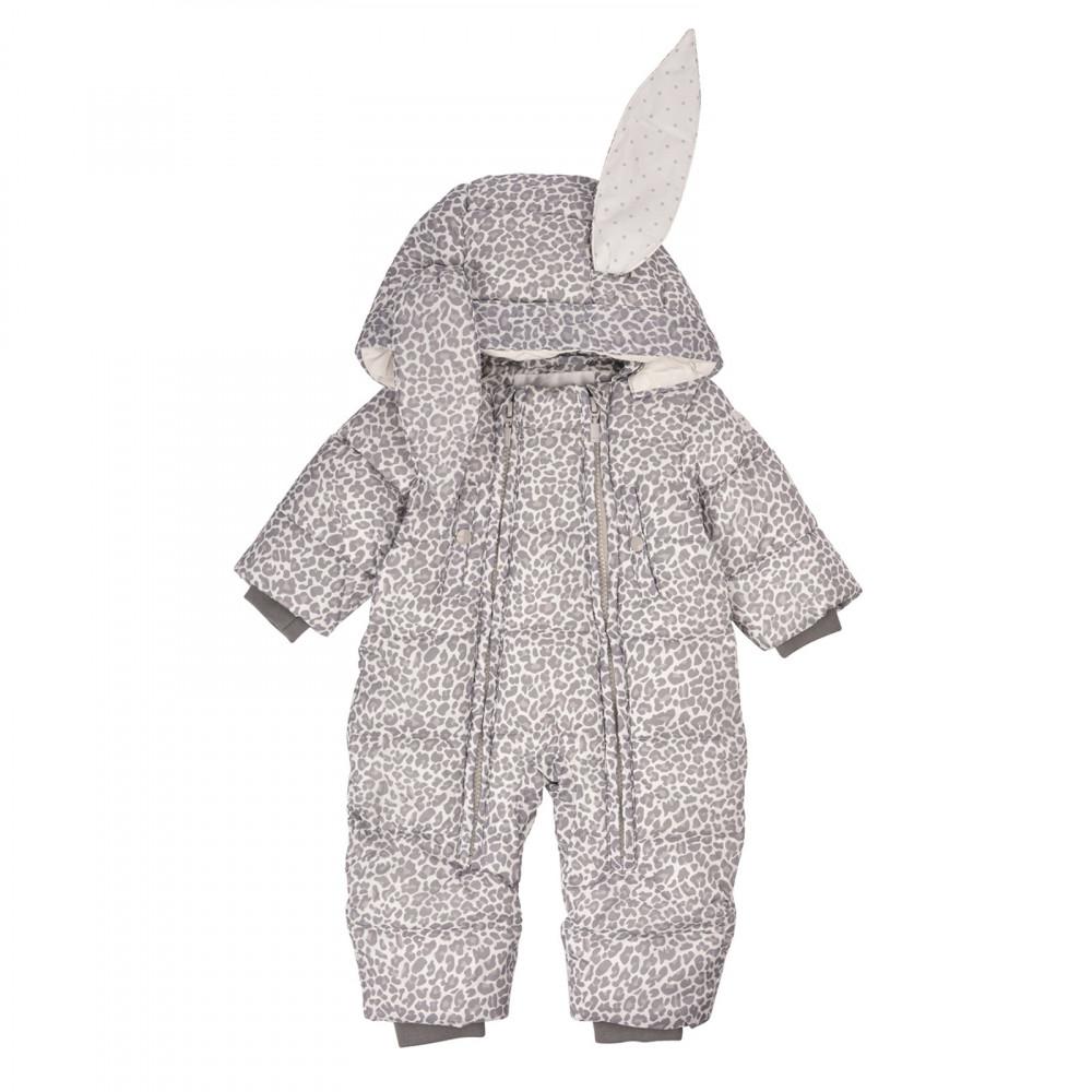"Bērnu kombinezons Livly Puffer ""Bunny Overall Leopard/sand"""