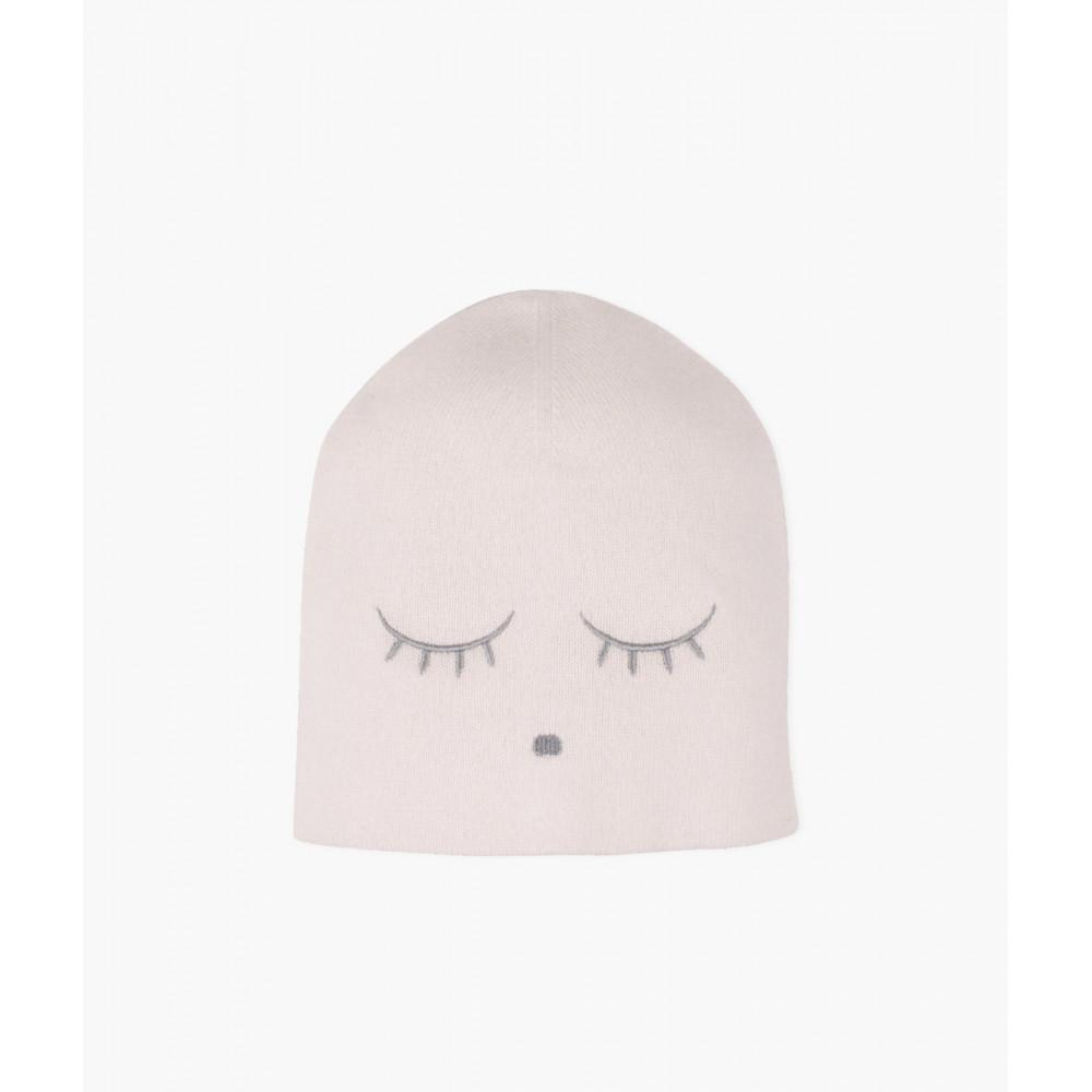 "Bērnu cepure Livly ""Beanie hat light mauve"", 100% kašmirs"