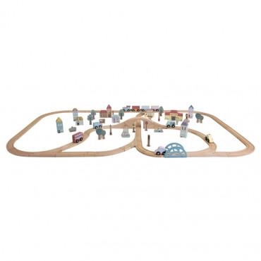 "Dzelzceļš Little Dutch ""Traintrack city"""