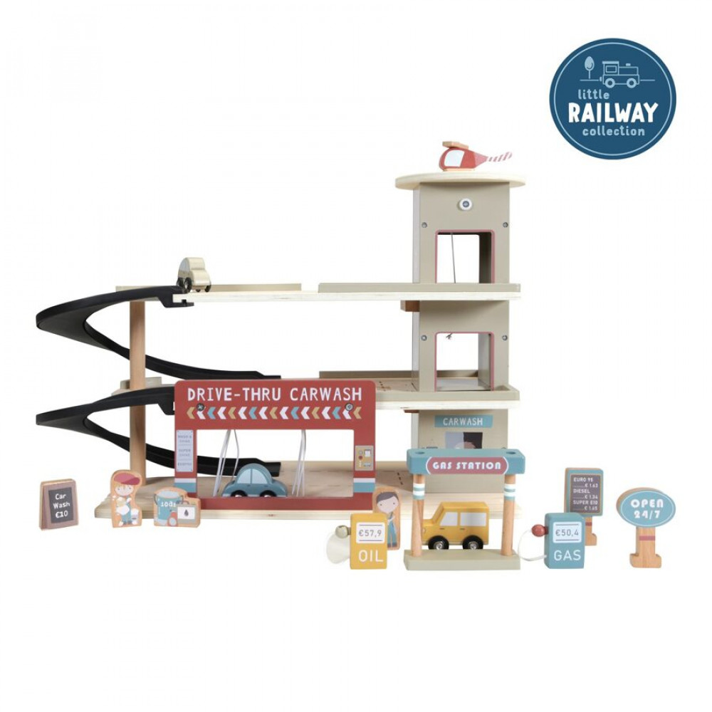 Garāža Little Dutch Railway Collection - garage