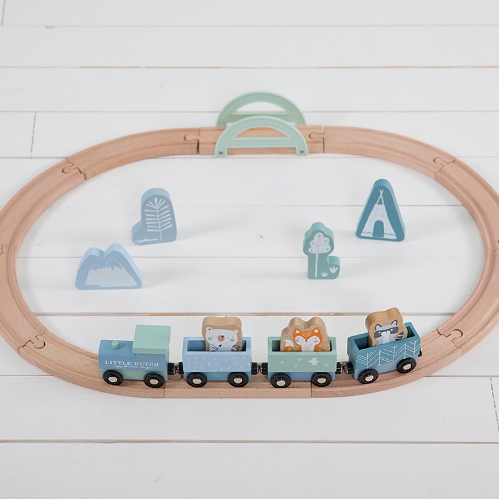 """Dzelzceļš """"Adventure blue"""""""