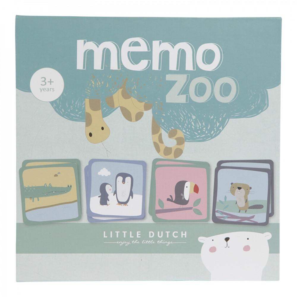 Kartītes Memo Zoo, Little Dutch