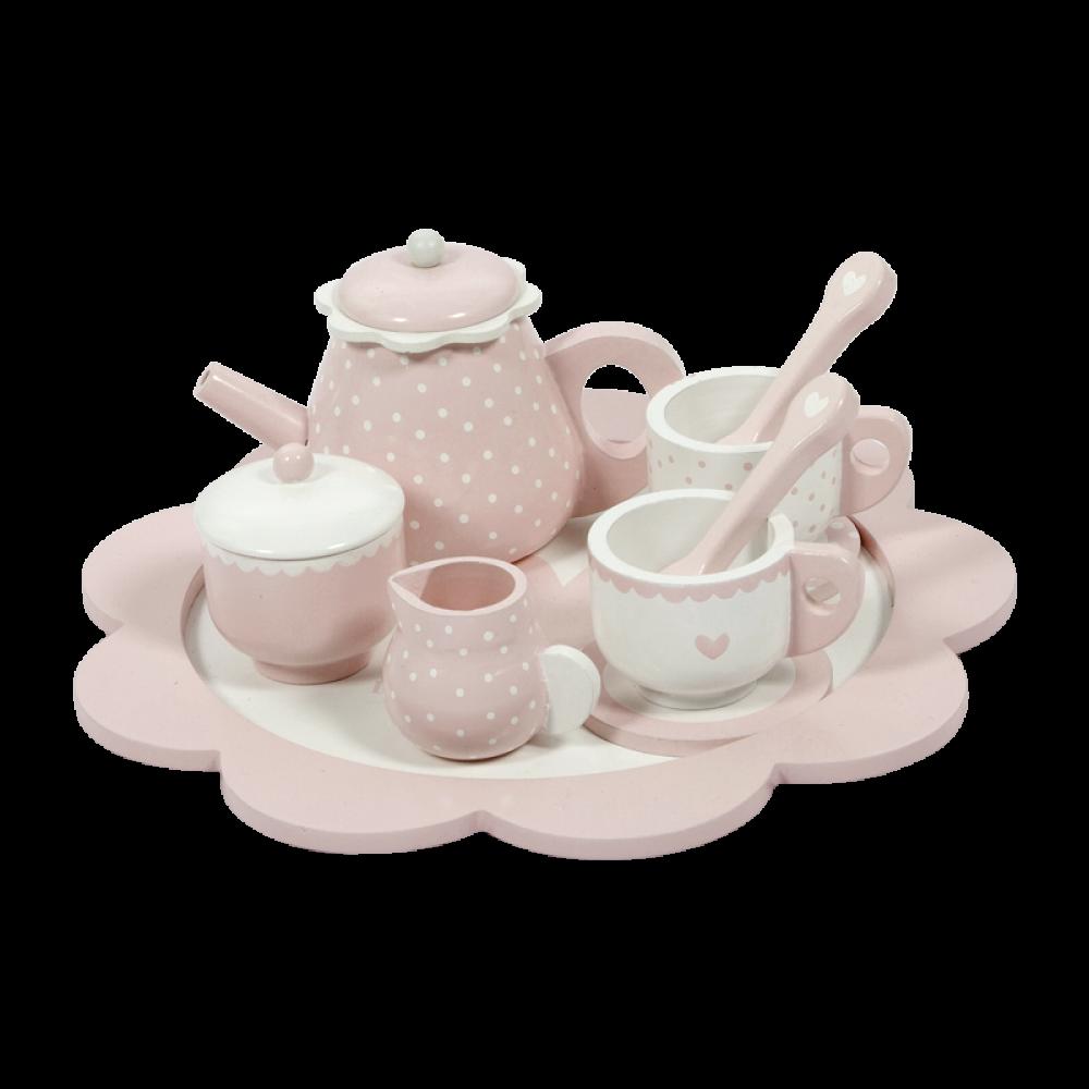 Tējas servīze Pink