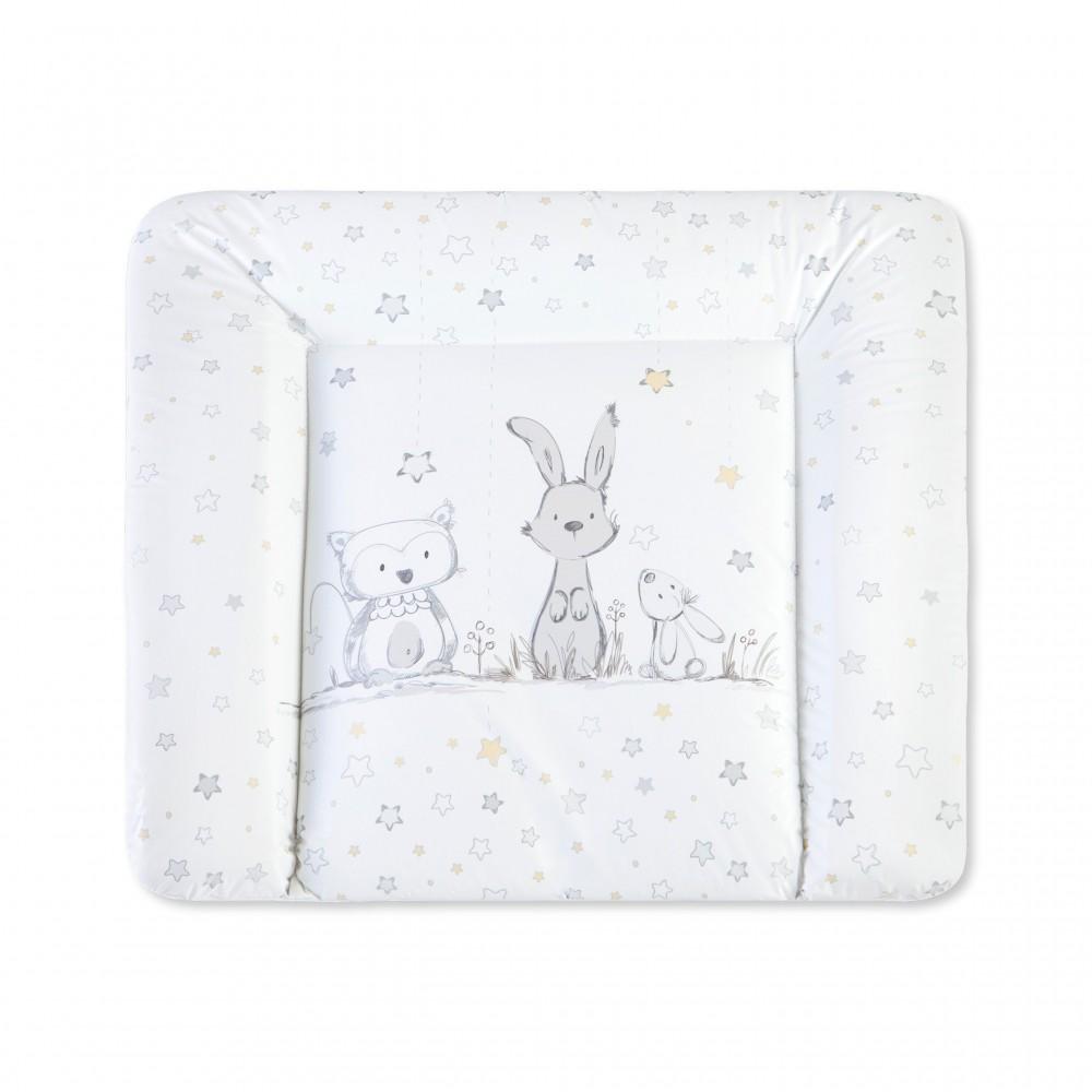 """Pārtīšanas matracītis Softy """"Rabbit and owl"""""""