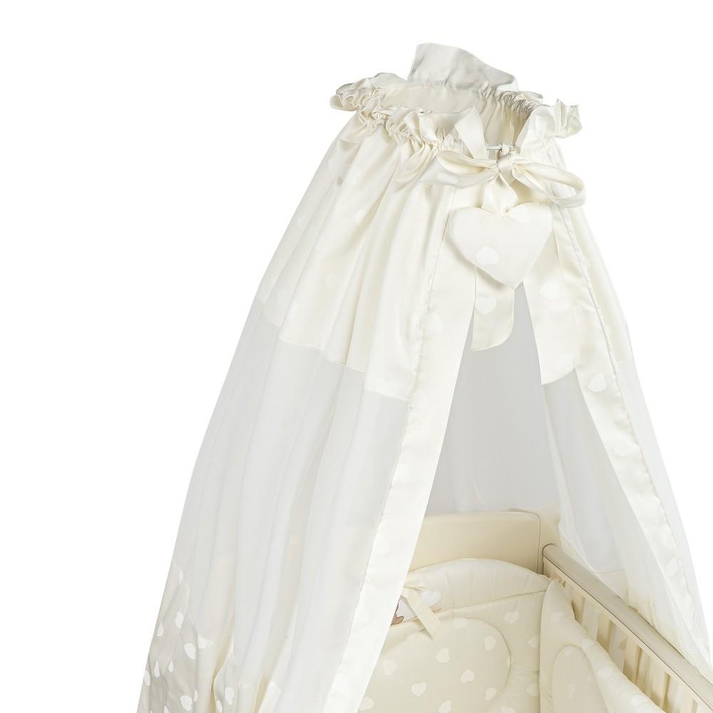 Baldahīns ar turētāju PICCI Amelie cream