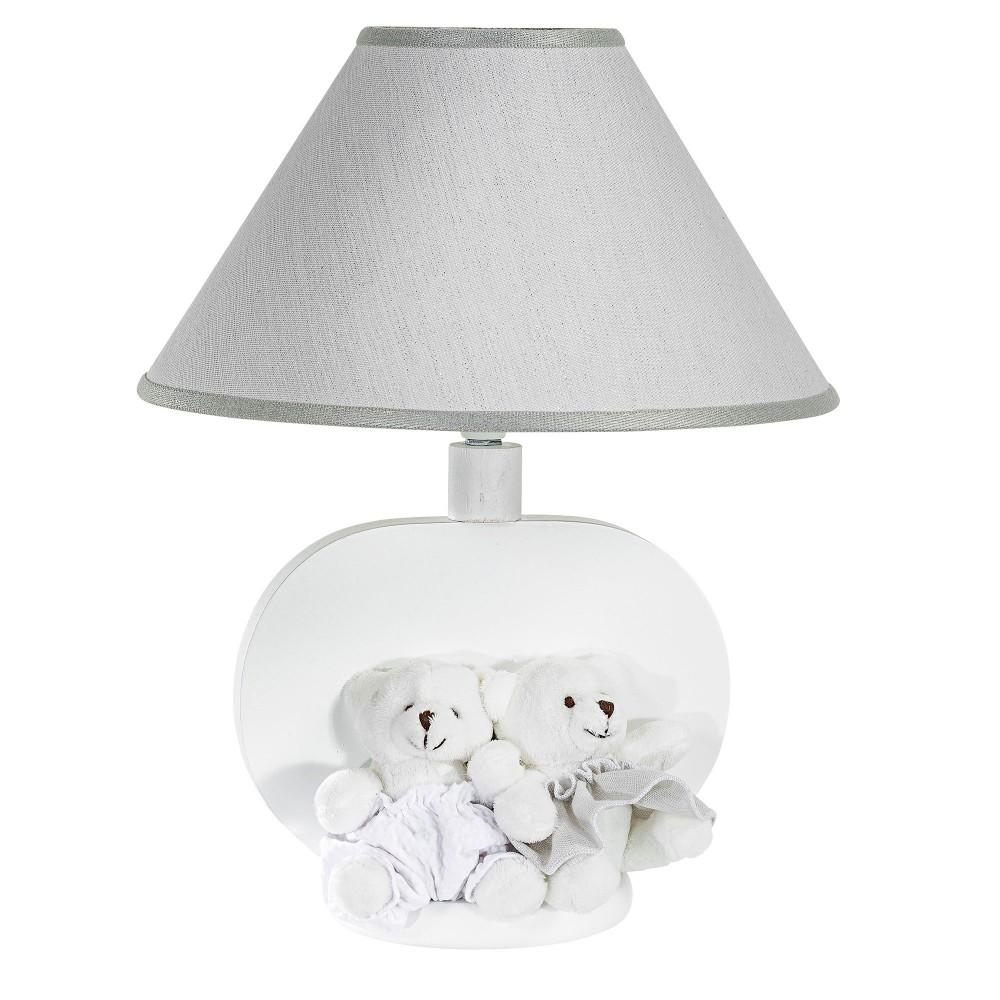 Galda lampa Nanny white