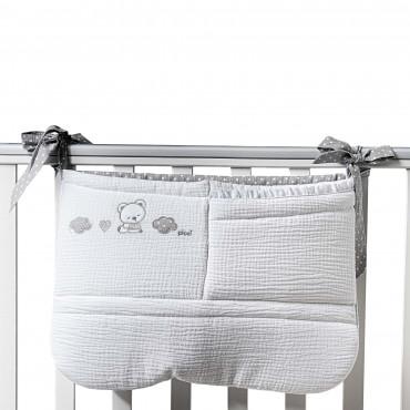 Kabatiņš-soma gultai PICCI Sleepy Grey