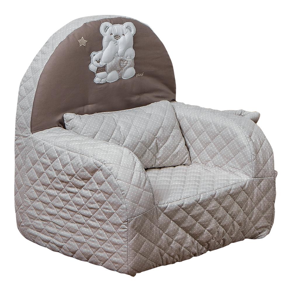 """Mīksts bērnu krēsliņš Picci """"Mami"""" beige"""