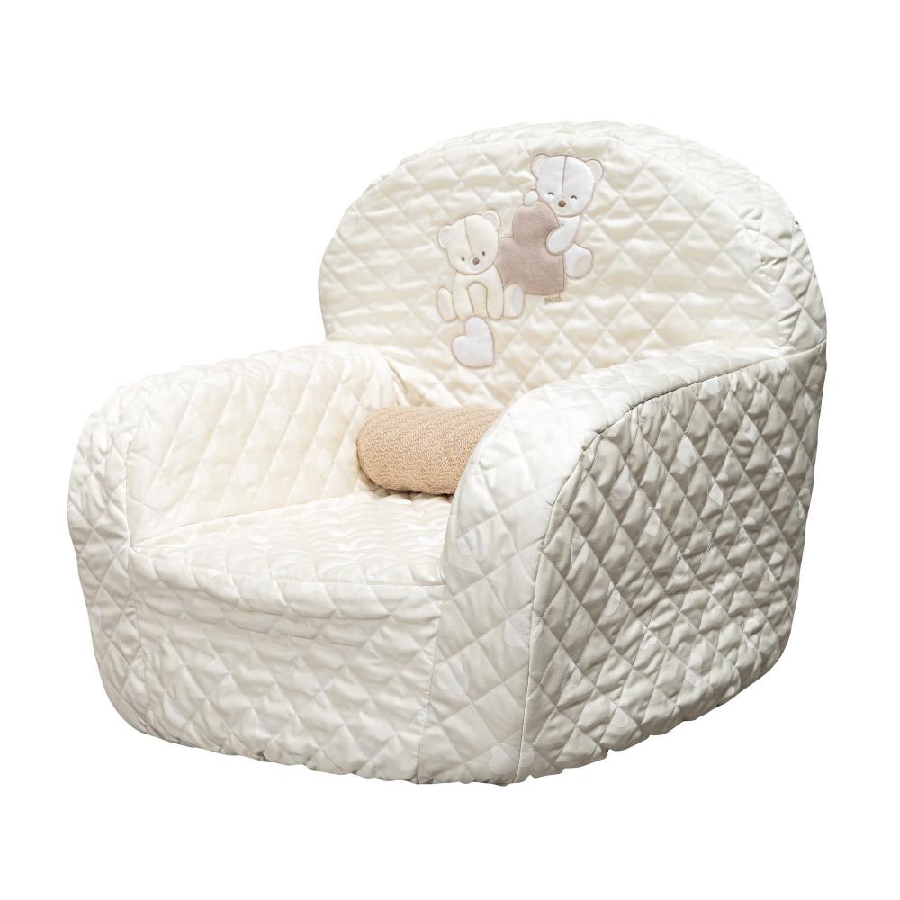 """Mīksts bērnu krēsliņš Picci """"Amelie"""" cream"""