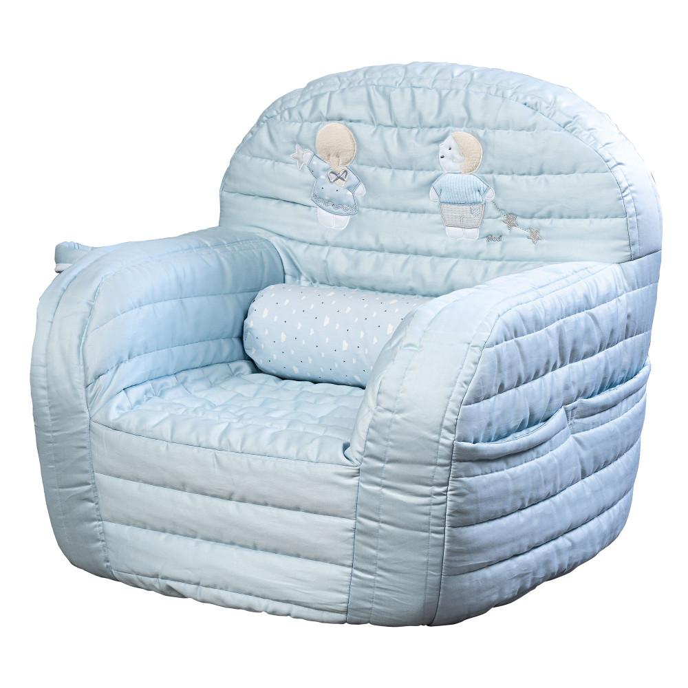 """Mīksts bērnu krēsliņš Picci """"Lollipop"""" blue"""