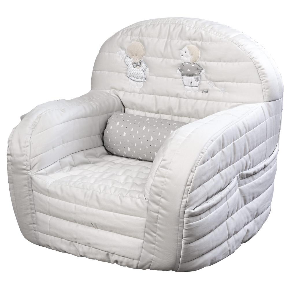"""Mīksts bērnu krēsliņš Picci """"Lollipop"""" grey"""