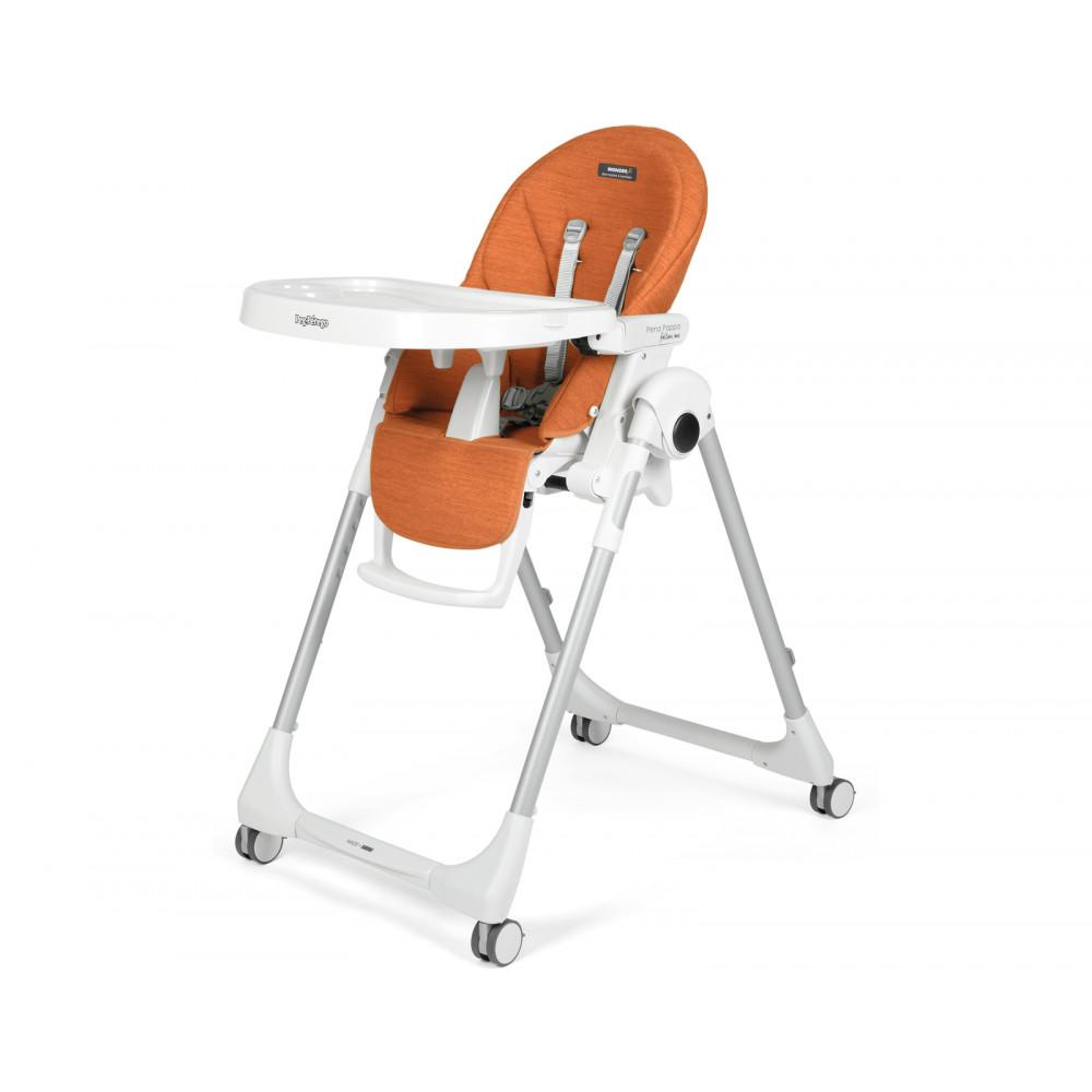 Barošanas krēsls Peg Perego Prima Pappa Follow Me - NEW Wonder Orange