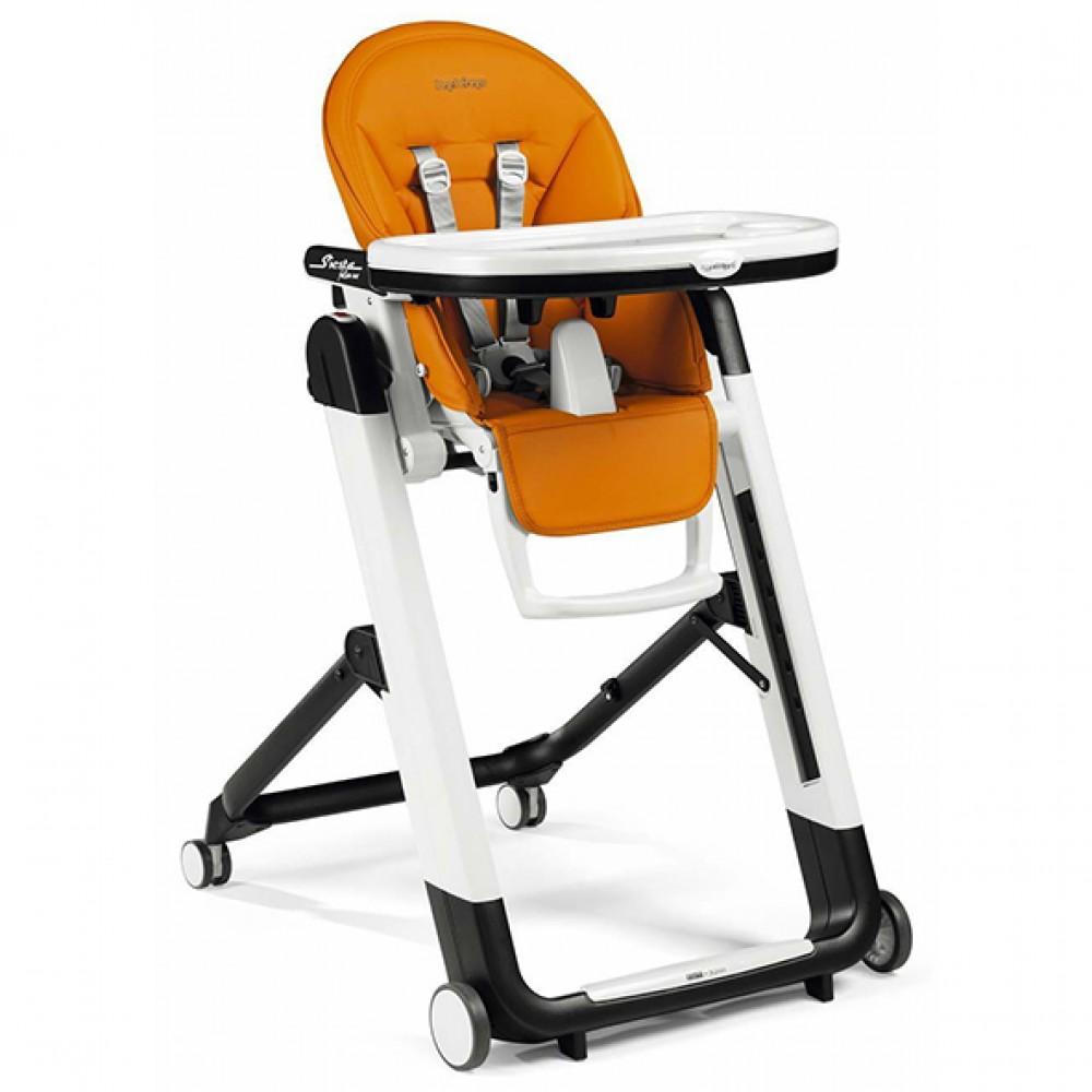 """Bērna barošanas krēsls """"Peg Perego Siesta Follow Me"""" (Arancia)"""