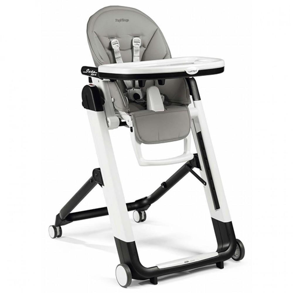 """Bērna barošanas krēsls """"Peg Perego Siesta Follow Me"""" (Ice)"""