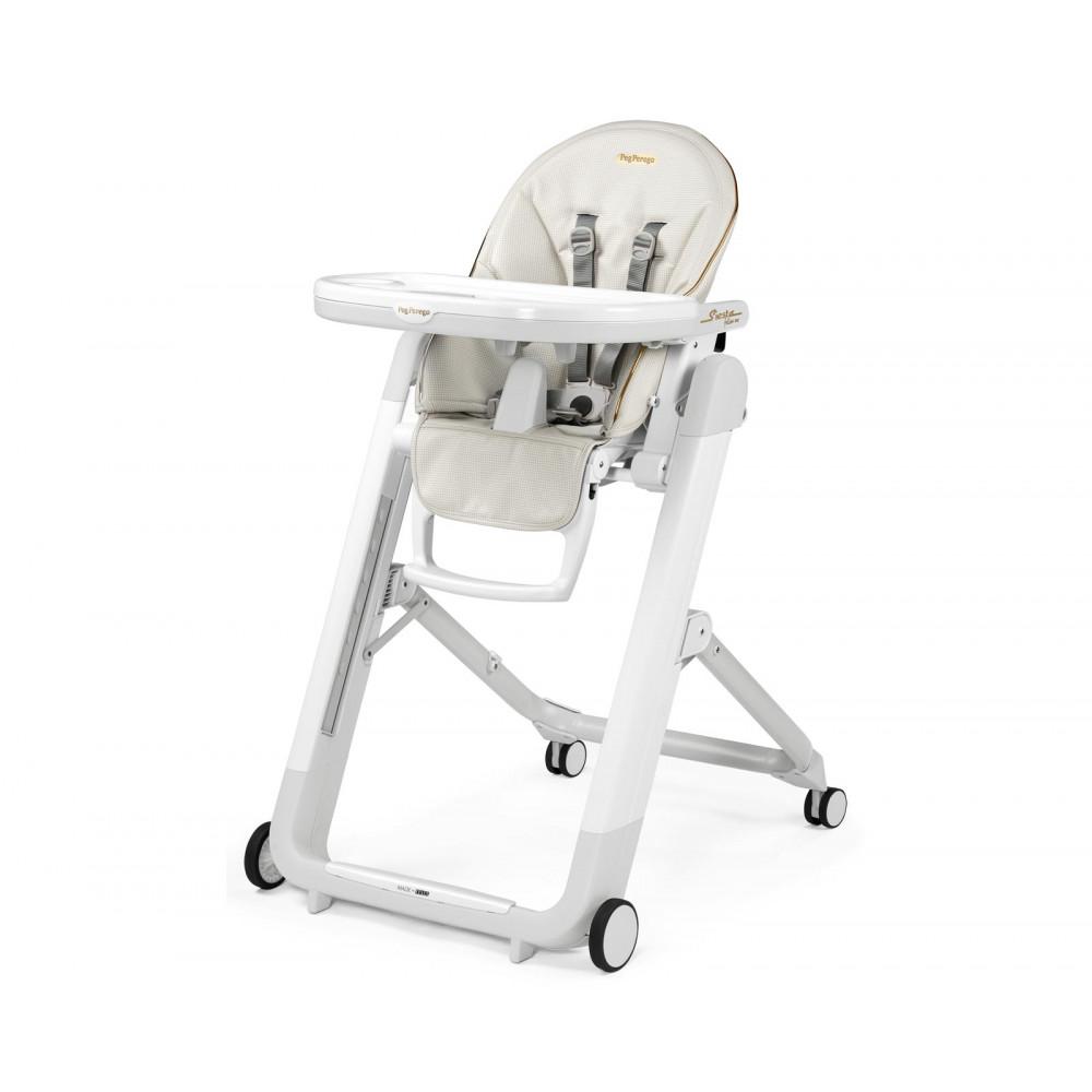 Bērna barošanas krēsls Peg Perego Siesta Follow Me - NEW Lucent