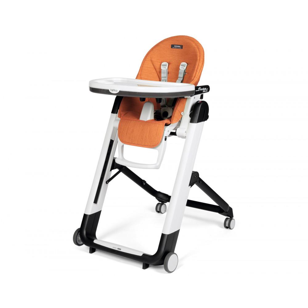 Bērna barošanas krēsls Peg Perego Siesta Follow Me - NEW Wonder Orange