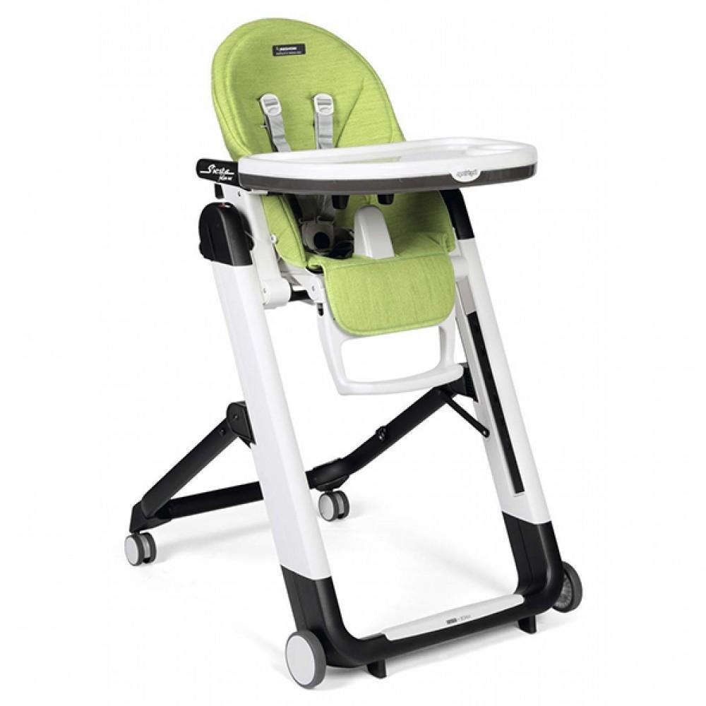 """Bērna barošanas krēsls """"Peg Perego Siesta Follow Me"""" (Wonder green)"""