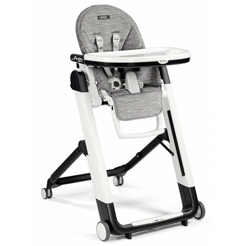 """Bērna barošanas krēsls """"Peg Perego Siesta Follow Me"""" (Wonder grey)"""