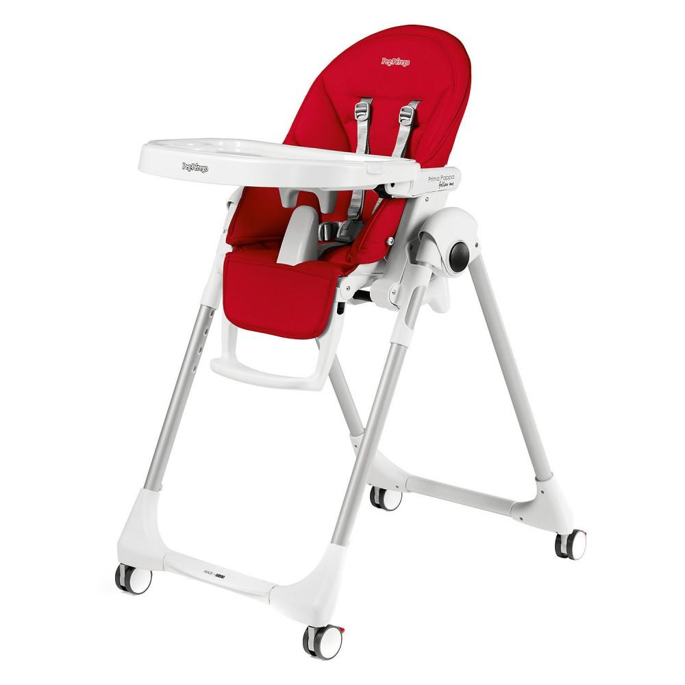 """Barošanas krēsls """"Peg Perego Prima Pappa Follow Me"""" (Fragola)"""