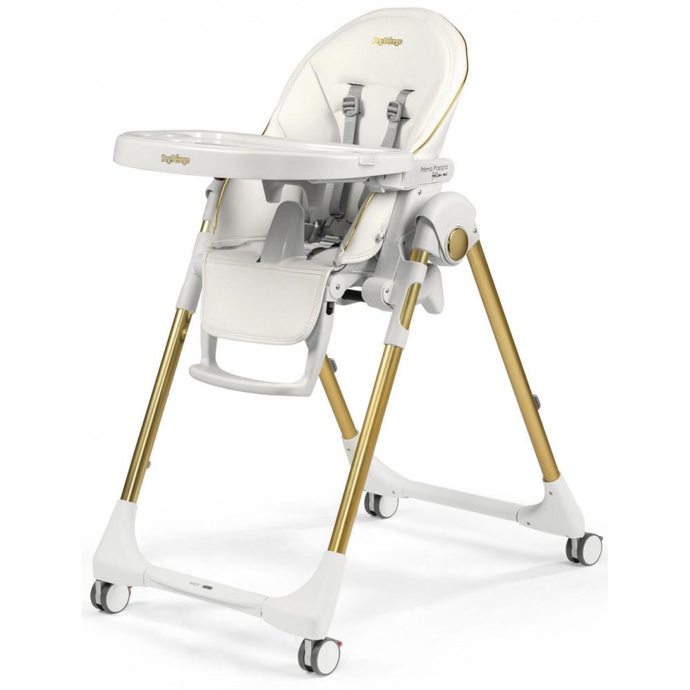 """Barošanas krēsls """"Peg Perego Prima Pappa Follow Me"""" (Gold)"""