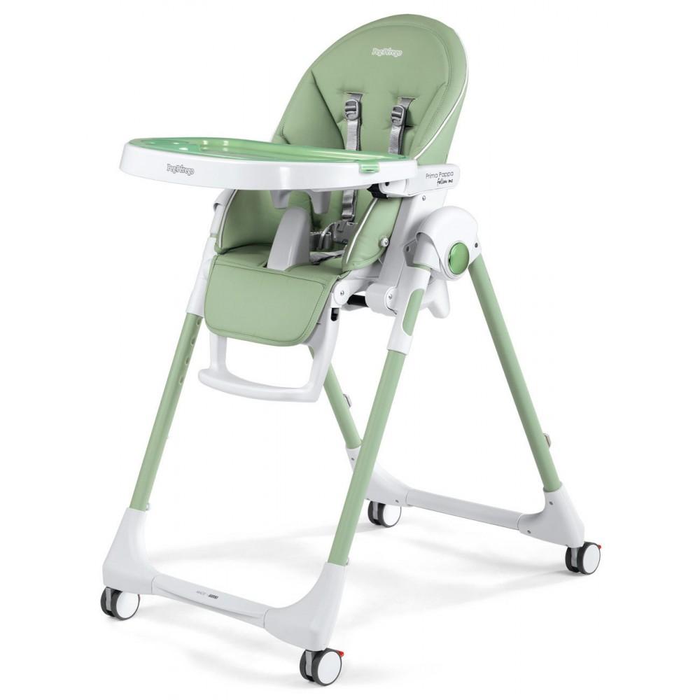 """Barošanas krēsls """"Peg Perego Prima Pappa Follow Me"""" (Mint)"""