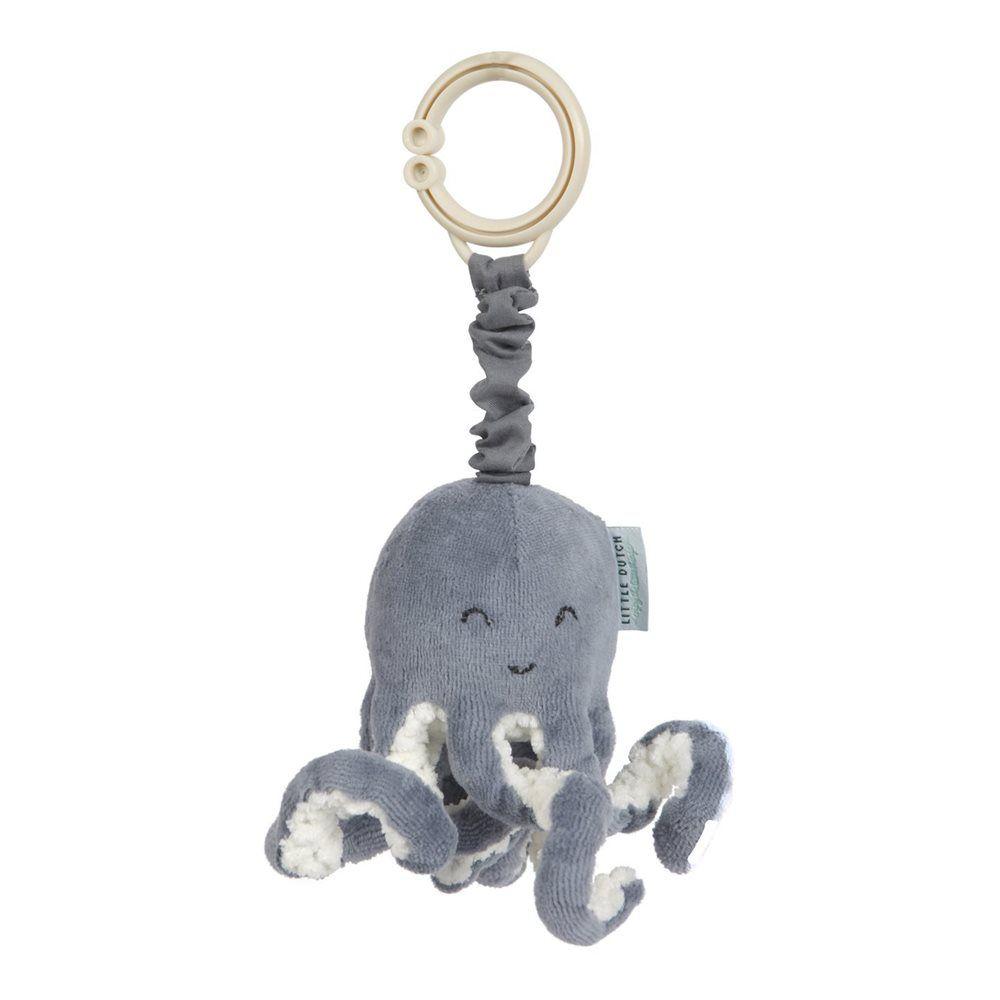 Pull-and-shake Octopus - Ocean blue, Little Dutch